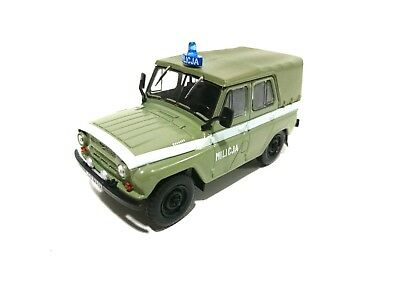 UAZ 469 MILICJA Military - 1:43 MODEL CAR USSR DIECAST IST P204 for sale  Shipping to United States