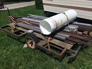 Trailer And Steel Tubing