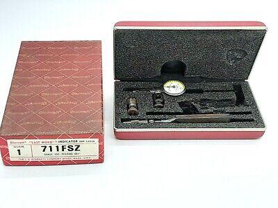 Starrett Last Word Dial Indicator 711fsz Metalworking Inspectionmeasuring Tool