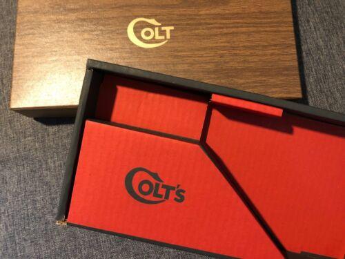 Colt Woodgrain Diamondback Two Piece Box & PW  Mint  1967-73