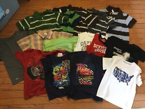 Boys size 4 summer clothing lot