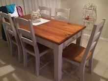 Dining setting with matching tables Corio Geelong City Preview