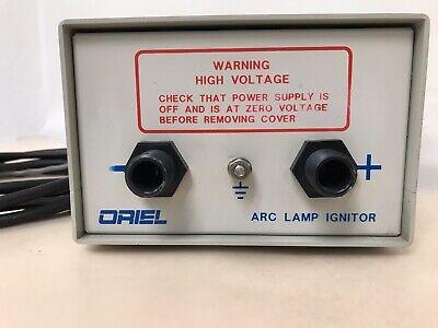 Oriel Xenon Mercury Arc Lamp Ignitor Model 68706 And Cords
