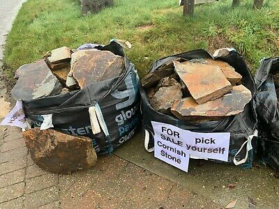 Cornish Garden Stone - Slate Rockery £50 / Ton Bag or Collection and Self Select