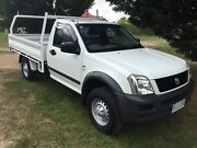 2006 Holden Rodeo 4x2 Flat Tray Kings Meadows Launceston Area Preview