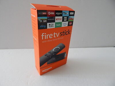 Amazon Fire TV Stick (2nd Gen) with Alexa Voice Remote Media Streamer IN STOCK