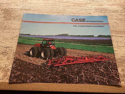 Case International Soil Conditioning Equipment Sales Brochure