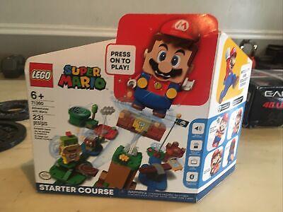 LEGO Super Mario Adventures Mario Starter Course 71360 Factory Sealed
