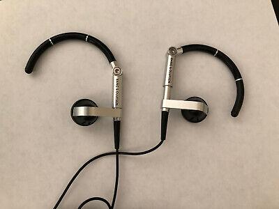 Bang + Olufsen Premium Earset 3i Earbuds Headphones Earphones Tested Black Works