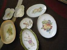 ANTIQUE HANDPAINTED PLATES Holden Hill Tea Tree Gully Area Preview