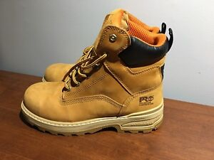 Timberlands composite toe workboots