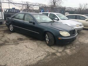MERCEDES-BENZ S500 PARTS FOR SALE