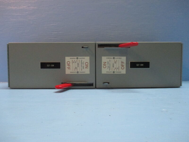 Ge Qmr361 30 Amp W Hardware 600v Twin Fusible Panelboard Disconnect Thfp-361 30a