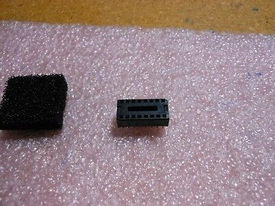"2x 24pin ZIF socket  for DIL ICs Textool 0.6/"" Zero Insertion Force universal DIP"