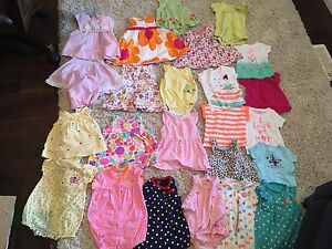 Baby girl clothing (6 months)
