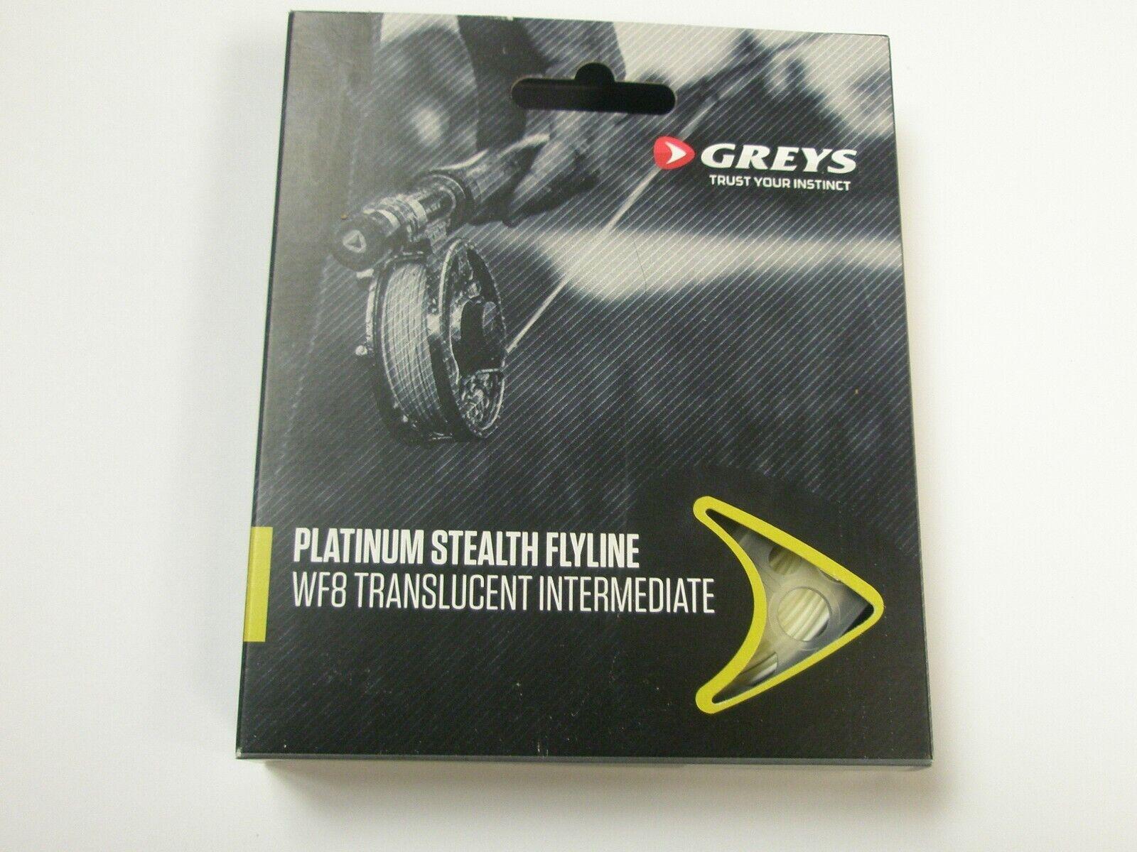 Greys Platinum Stealth Fliegenschnur Flyline Alle Sorten Angelzubehör
