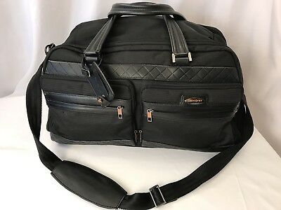 "Samsonite Black Label Boston Garment Bag 20"" Suitcase Spinner Super Rare"