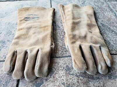 Wells Lamont Welders Gauntlets Reinforced Palms Good Quality Work Gloves 1 Pair