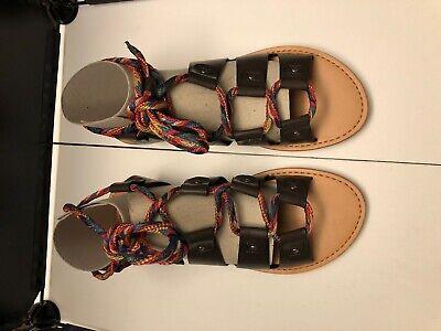 Indigo Rd. Women's Barri Gladiator Sandals - Dark Brown size 8M