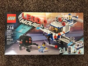 Brand New The Lego Movie The Flying Flusher 2 in 1