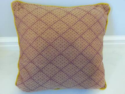 Trellis Style Cushion Cover with Insert Bayswater Bayswater Area Preview