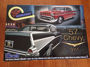 Large 1/12 scale 57 Chevy model kit