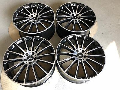 4 Originale Mercedes Alufelgen S-Klasse W222 20 Zoll 8,5J x20 ET38 A2224010500