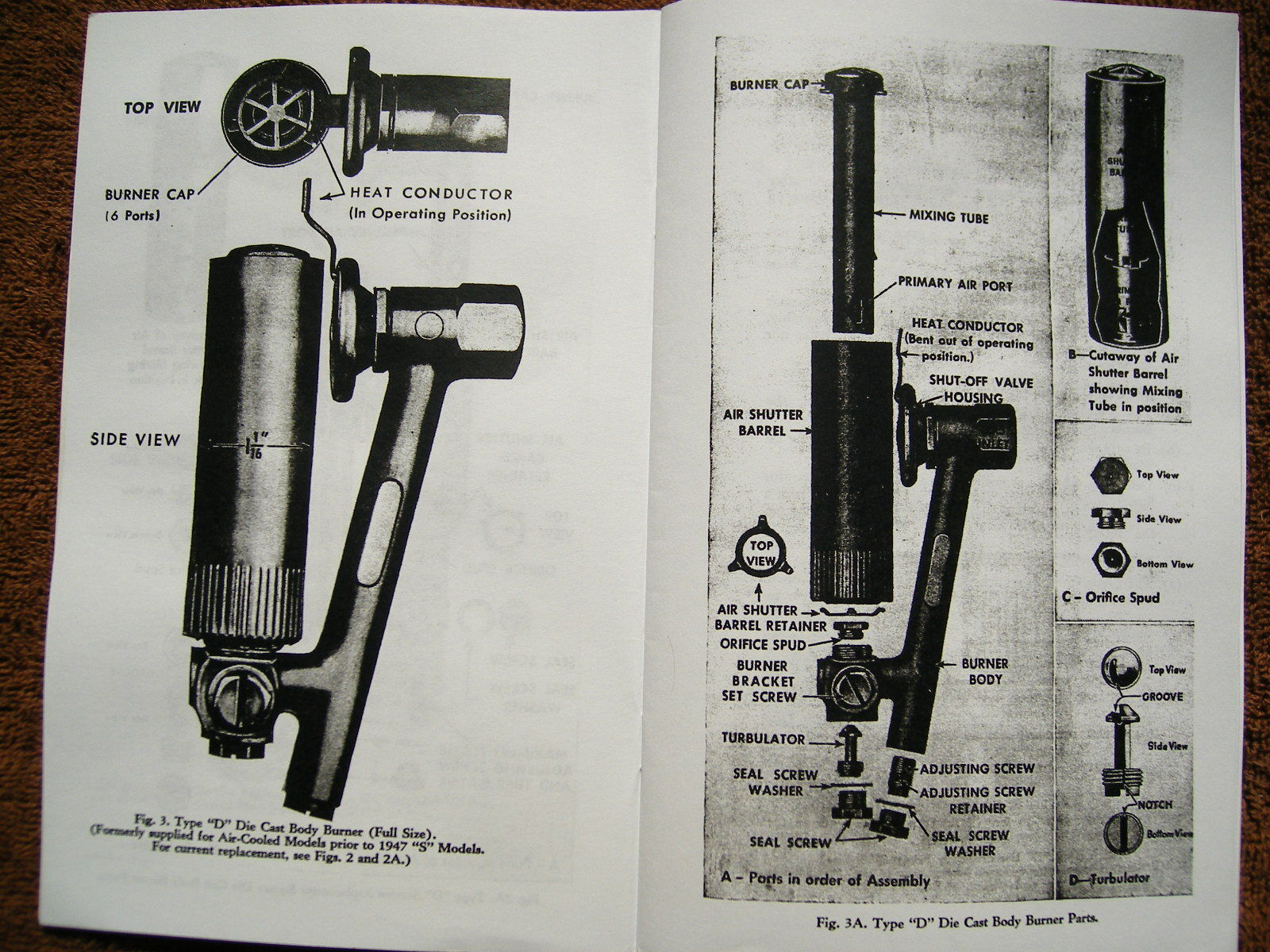 Servel Refrigerator Schematic Diagrams Hotpoint Wiring Gas Service Manual For 1933 1957 Models 2 Of 12