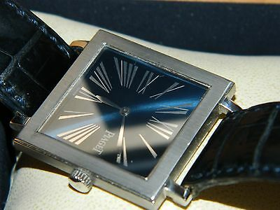 AMAZING 18K WHITE GOLD PIAGET Altiplano Légende Extra Plate Mecanique