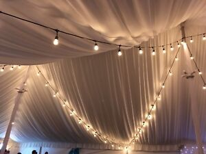 Wedding party string light for rent