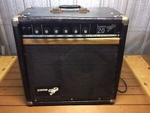 Scorpion guitar amp not working ( speaker ok ) Endeavour Hills Casey Area Preview