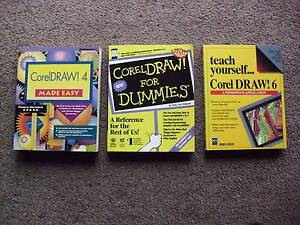 3 Books on CorelDraw at $10 each. Take 3 for $25 Scone Upper Hunter Preview
