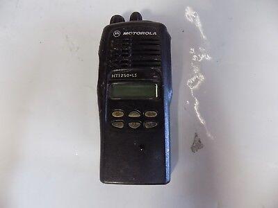 Motorola Ht1250ls 700mhz Two Way Radio Aah25rdh9du5an