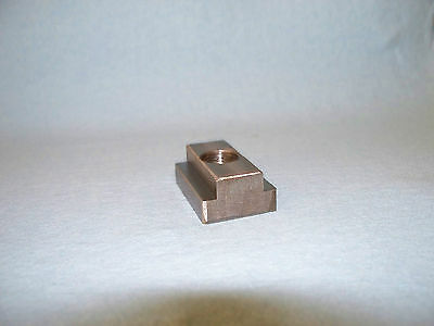 T Nut For Atlas Craftsman 10 Lathes.  Tapped For 12 13 Thread.