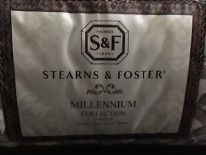 Matelas King - Stearns & Foster - Millenium collection - Ferme