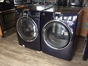 Excellent Working Front Load Steam Washer-Dryer Set-Will Deliver