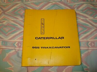 Caterpillar 955 Traxcavator Complete Repair Service Manual 31j 48h 53h 61h
