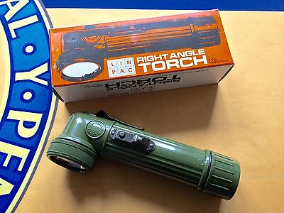 BRAND NEW UNISSUED BRITISH ARMY RIGHT ANGLE TORCH