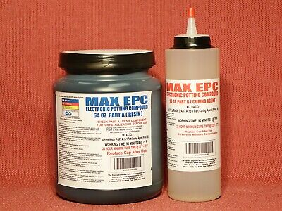Epoxy Resin Electronic Potting Compound 4 Thick Pours High Thermal Conductivity
