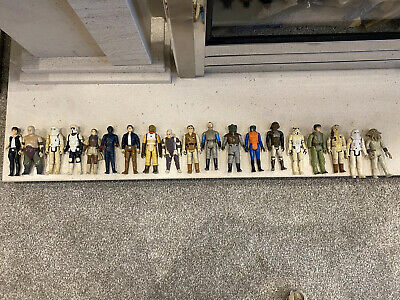 vintage star wars figures job lot