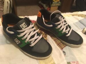 Boys DC sneakers. Size 5.5. Excellent condition. $8