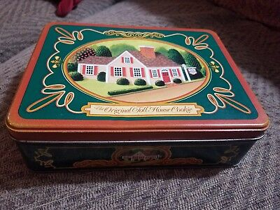 Vintage The Original Toll House Cookie Tin, Nestle Collectible
