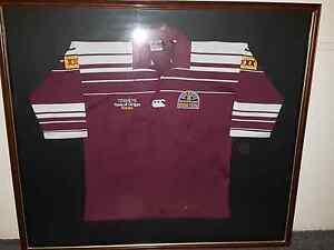 1995 Qld State of Origin Signed Jersey Labrador Gold Coast City Preview