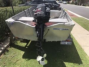 Aluminium Dingy Stacer 3.95 Sorrento Joondalup Area Preview