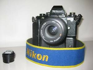 Nikon SLR F3 HP Mount Stuart Hobart City Preview