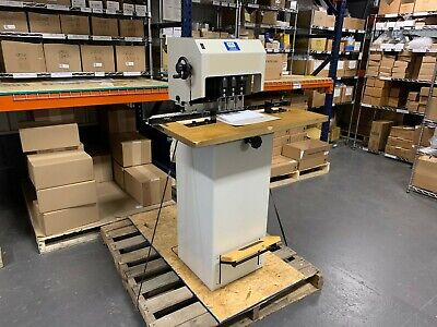 Lassco Fmm-1-r Fmm-3 3-spindle Paper Drill - Professionally Serviced Tested