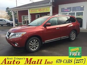 2014 Nissan Pathfinder SL/Leather/Sunroof