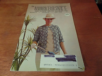 Винтажные May 1968 The Workbasket and