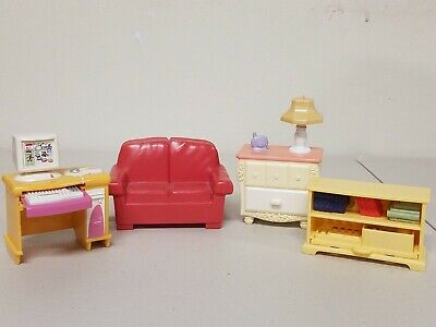 Fisher Price Loving Family Dollhouse Living Room Furniture