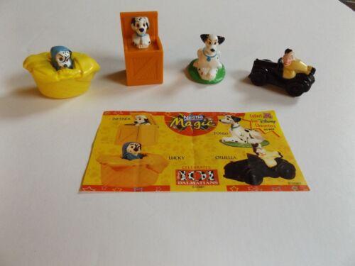 Nestle Magic Disney  Lot of 4  from 101 Dalmatians